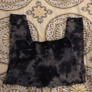 Calvin Klein tie dye leggings